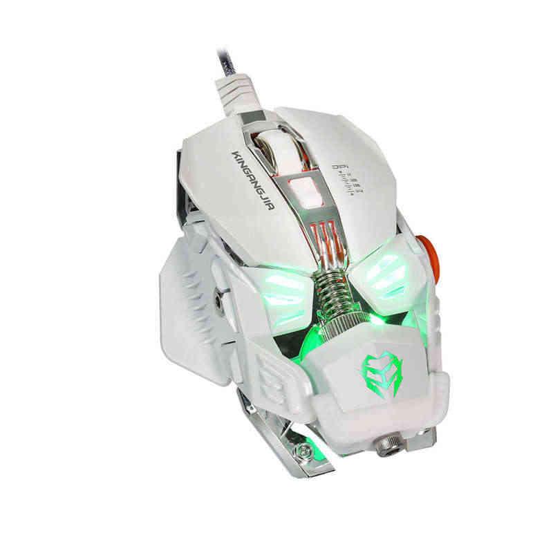 ماوس الألعاب الميكانيكية ماوس 8 زر السلكية لعبة ماوس Gamer G590 وحدات الماكرو برمجة الكمبيوتر البصري فأرة للحاسوب النقال Pc