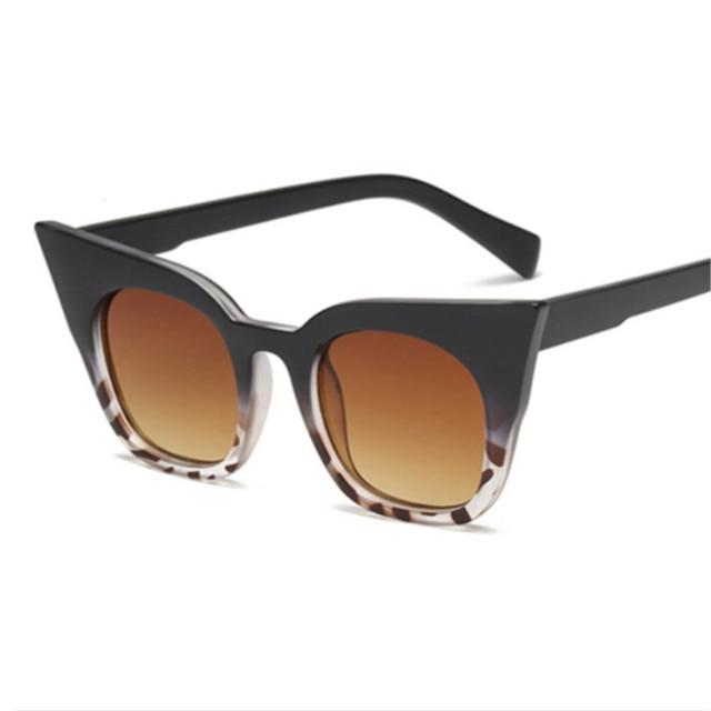 New Cat Eye Sunglasses Women Kids Vintage Shaped Sun Glasses Female Eyewear Brand Designer Sunglasses 5