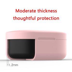 Image 3 - Apertura a conchiglia Anti shock Flessibile Del Silicone Completa di Protezione Caso Della Copertura Completa per Xiaomi Redmi Airdots TWS Bluetooth E
