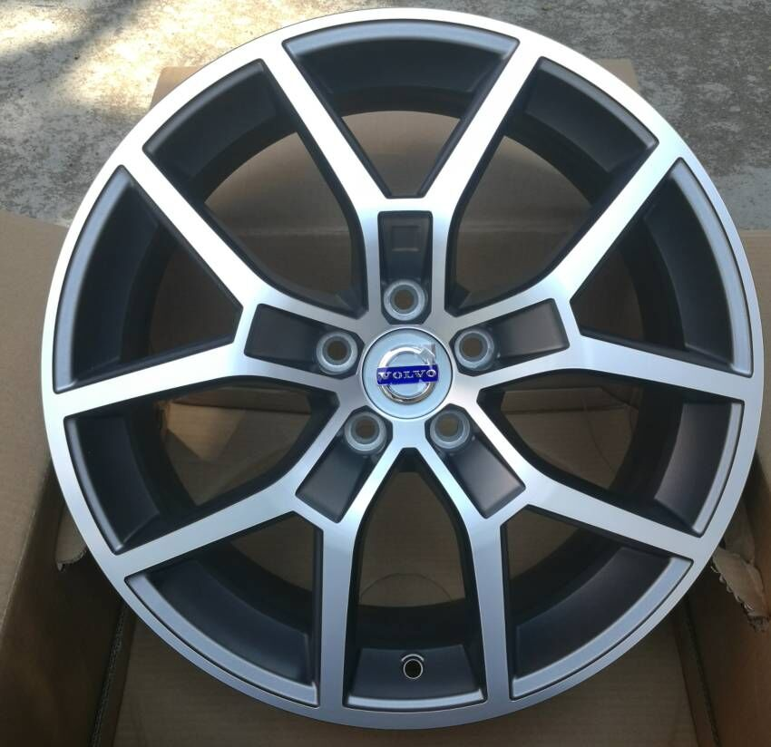buy 17 18 inch 5x108 car aluminum alloy wheel rims fit for volvo s60 v60 xc60. Black Bedroom Furniture Sets. Home Design Ideas