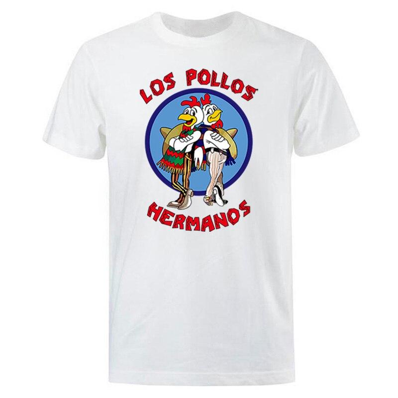 Camisetas a la moda para hombre 2019 verano LOS POLLOS camiseta hermanos hombres LOS POLLOS hermanos Camiseta de manga corta Hipster gran oferta Tops