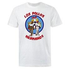 Men's Fashion T-Shirts 2019 Summer LOS POLLOS Hermanos T-shirt Men Chicken Brothers Short Sleeve TShirt Hipster Hot Sale Tops