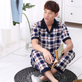 2016 New Spring and Summer Short Sleeved Pajamas Home Furnishing Male Clothing Manufacturers Wholesale