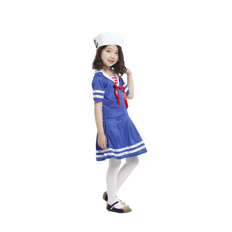 retail new children halloween costumesgirls sweet heart little sailor costumes cosplay for kids in girls costumes from novelty special use on