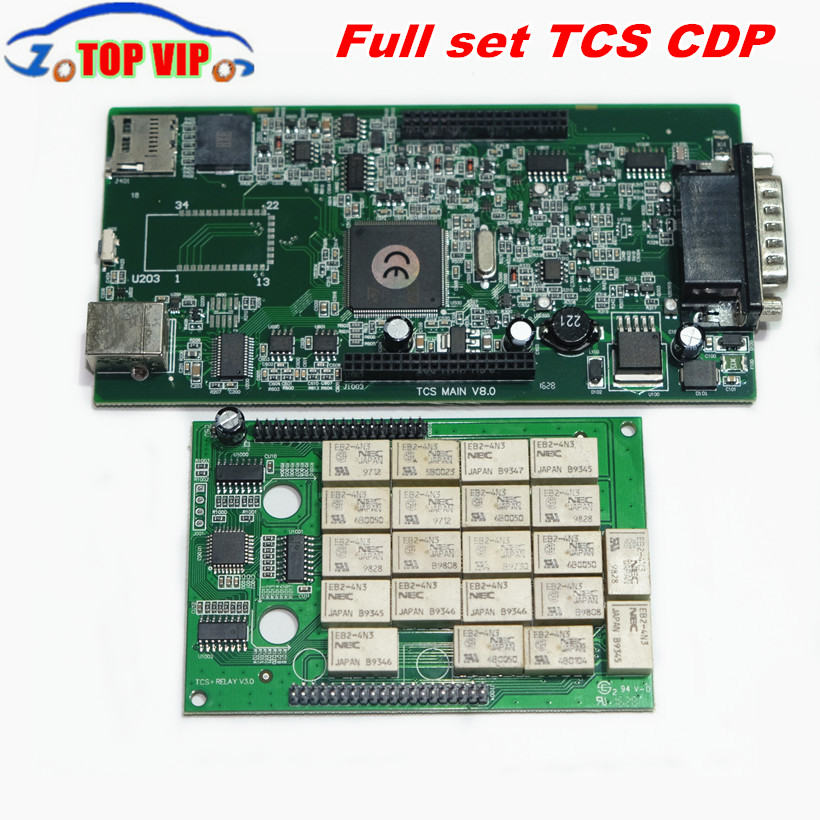 A + Quality TCS CDP Pro without bluetooth 2016.00 Newest Support 2016 year Car Models diagnostic-tool CDP PRO For Cars & Trucks