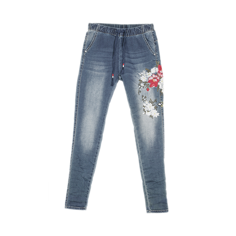 My Will Jeans New Special Design Women Jeans Woman Plus Size Loose High Waist Jeans Stretch Denim Pants By  6619 Made In China
