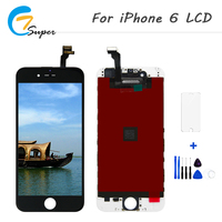 20PCS Lot For Apple IPhone 6 LCD Display With Touch Screen Digitizer Assembly Grade AAA 100