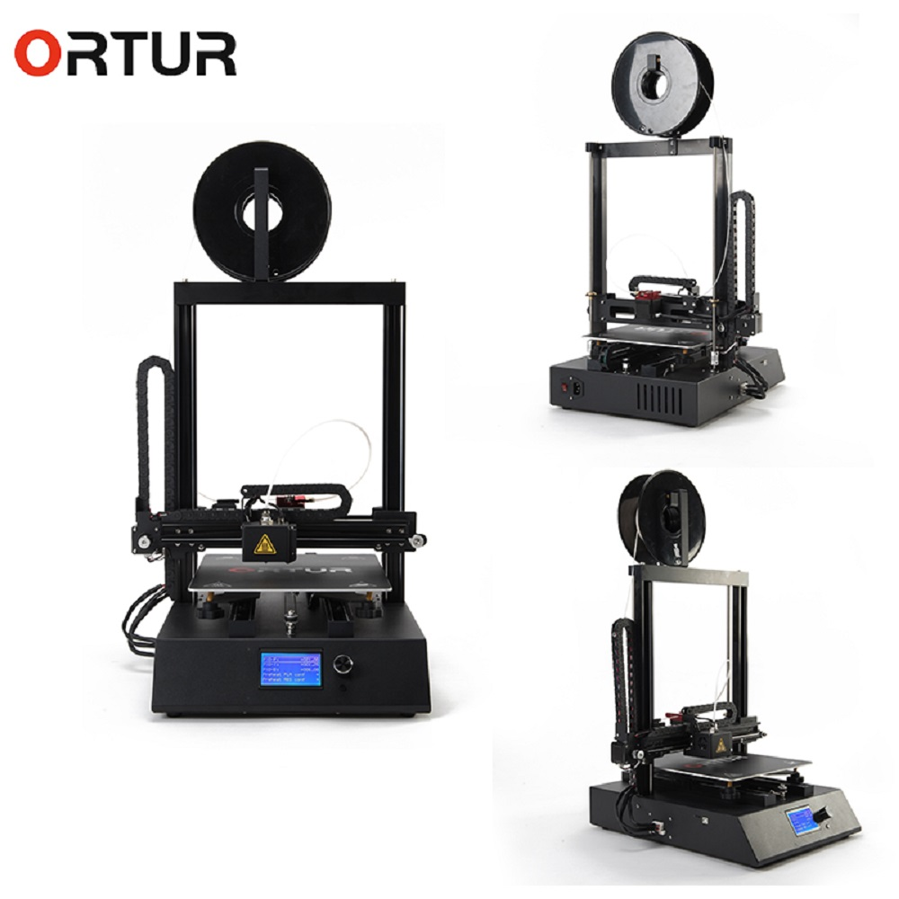 Ortur 4 High Accuracy Impresora 3D All Linear Guide Rail High Speed Auto Leveling 3D Printer Power Resume Filament End Sensor in 3D Printers from Computer Office