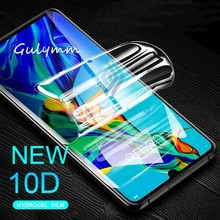 New 10D Soft Hydrogel Protective Film For Huawei P30 P20 Lite Mate 20 10 Pro Screen Protector For Honor 20 20Pro 10 9 Film Cover