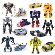 7 шт. Hero Игрушки Hero Трансформация Робот Автомобили Деформация Робот Автомобилей фигурки Игрушки подарок для мальчика