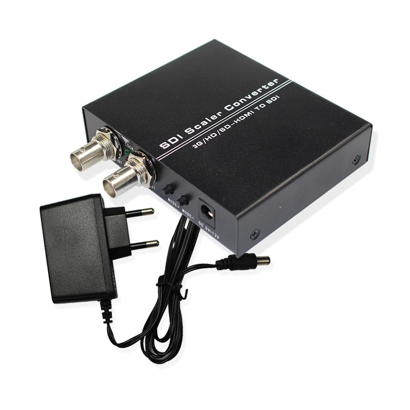 Nova Chegada SDI Scaler Conversor 3g/HD/SD-HDMI PARA SDI Apoio Frete Grátis Varejo & Distribuição