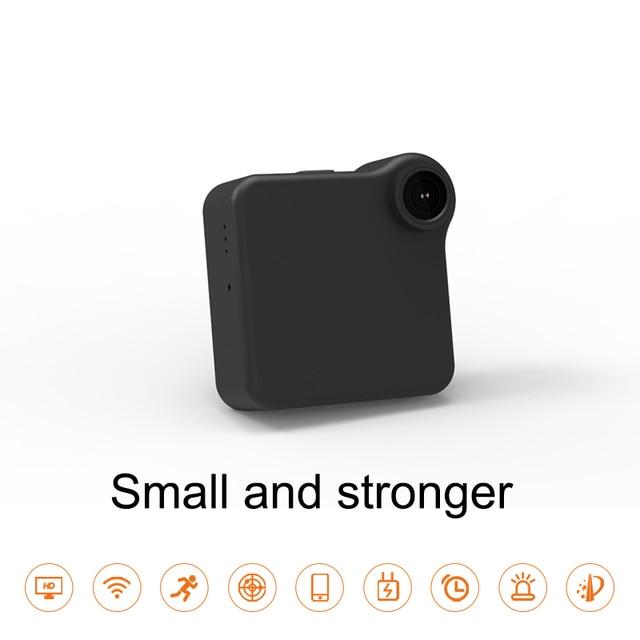 C1+ WIFI P2P Mini Camera HD 720P CAMSOY C1 Wearable IP Camera Motion Sensor Bike Body Micro DV DVR Magnetic Clip Voice Recorder 2