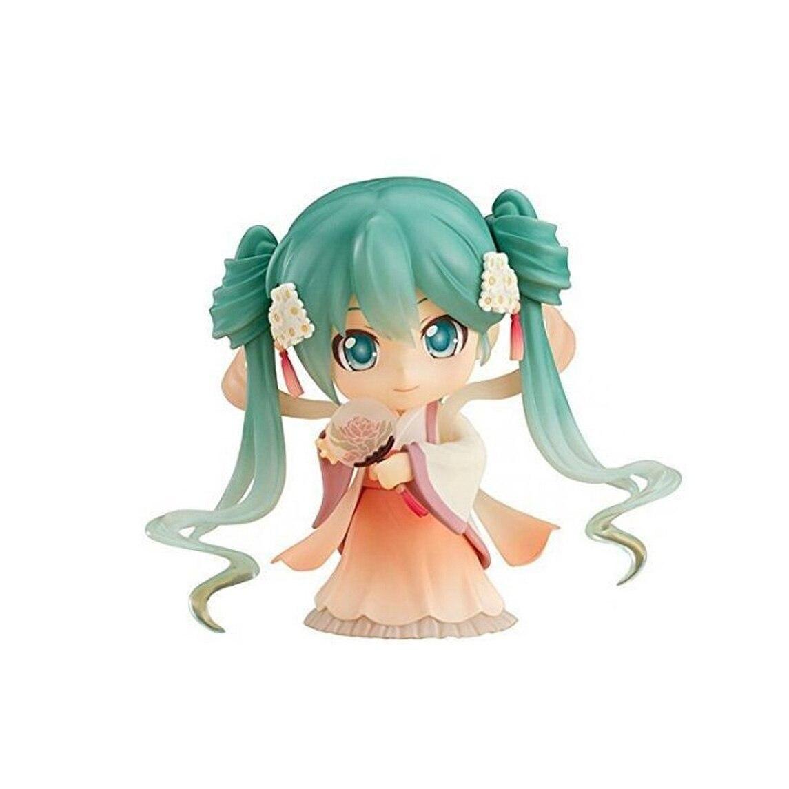 Chanycore GSC Nendoroid #539 Harvest moon ver Hatsune Miku Sakura Miku PVC Action Figure Collection Model Toy 10cm 4'' cxhexin g10a gu10 10w 600lm 20 5630 led dimmable light lamp bulb white golden ac 85 265v