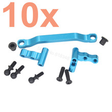 Wholesale 10Sets Aluminum Steering Linkage Kit A949 08 For RC WLtoys 1 18 A949 A959 A969