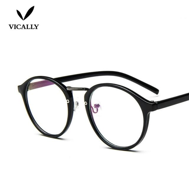 e3fb9d29ec608 Fashion Eyeglasses Frame Retro Vintage Optical Frame Reading Glasses Men  Women Myopia Eye Glasses Frame Oculos De