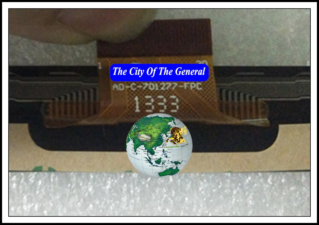 GENCTY For 7 inch AD-C-701277-FPC W-P