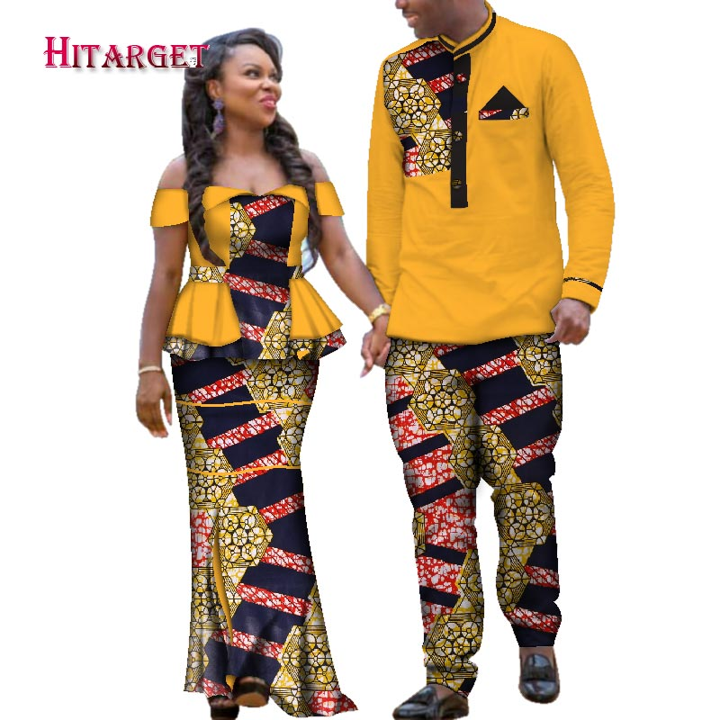 Near african dress styles for women and men