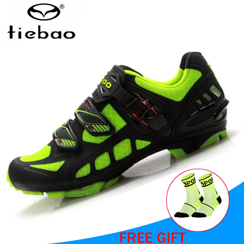 TIEBAO Professional Cycling Shoes Sapatilha Ciclismo Mtb Shoes Men Mountain Bike Shoes Biking riding outdoor sport SneakersTIEBAO Professional Cycling Shoes Sapatilha Ciclismo Mtb Shoes Men Mountain Bike Shoes Biking riding outdoor sport Sneakers