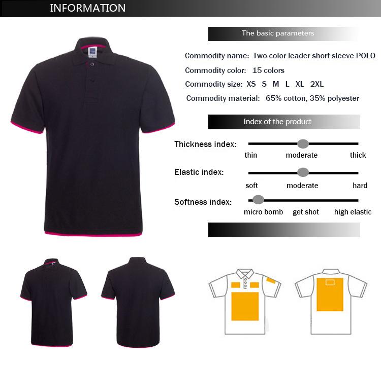 Plus Size XS-3XL Brand New Men's Polo Shirt High Quality Men Cotton Short Sleeve shirt Brands jerseys Summer Mens polo Shirts 6