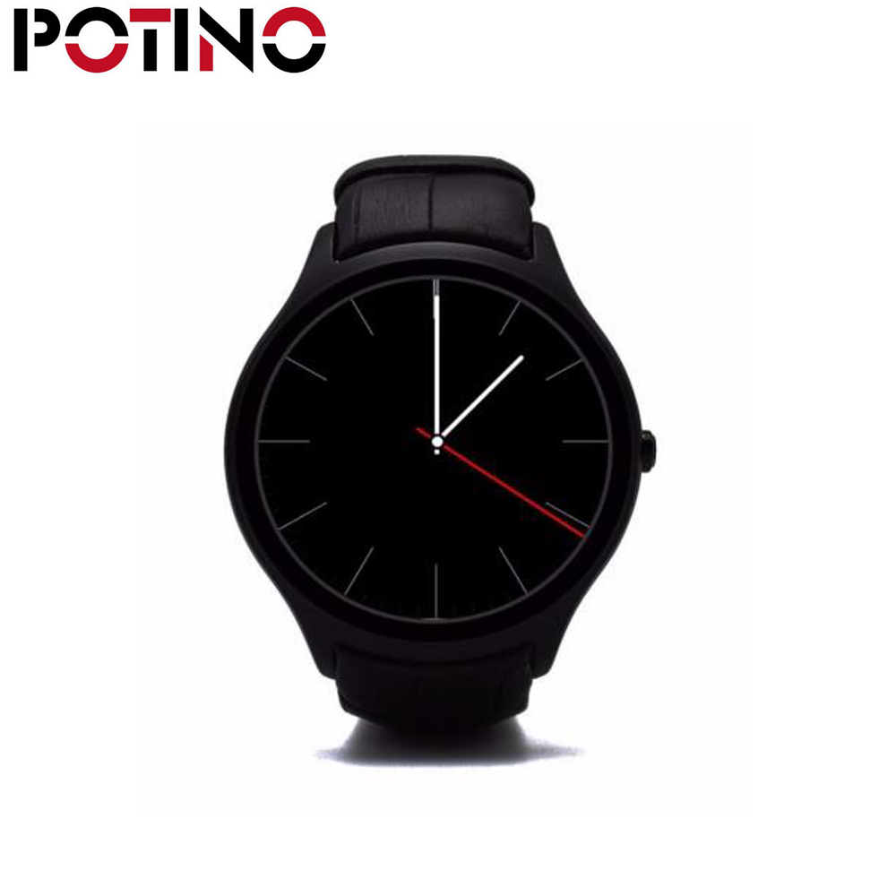 POTINO NO.1 D5+ Smart watch Android 5.1 MTK6580 1GB RAM 8GB ROM WiFi Health Heart Rate Monitor Dual Core SIM Bluetooth For IOS no 1 d6 1 63 inch 3g smartwatch phone android 5 1 mtk6580 quad core 1 3ghz 1gb ram gps wifi bluetooth 4 0 heart rate monitoring