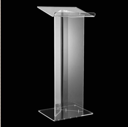 Custom Church Podium Acrylic Podium Pulpit Lectern Crystal Acrylic Pulpit