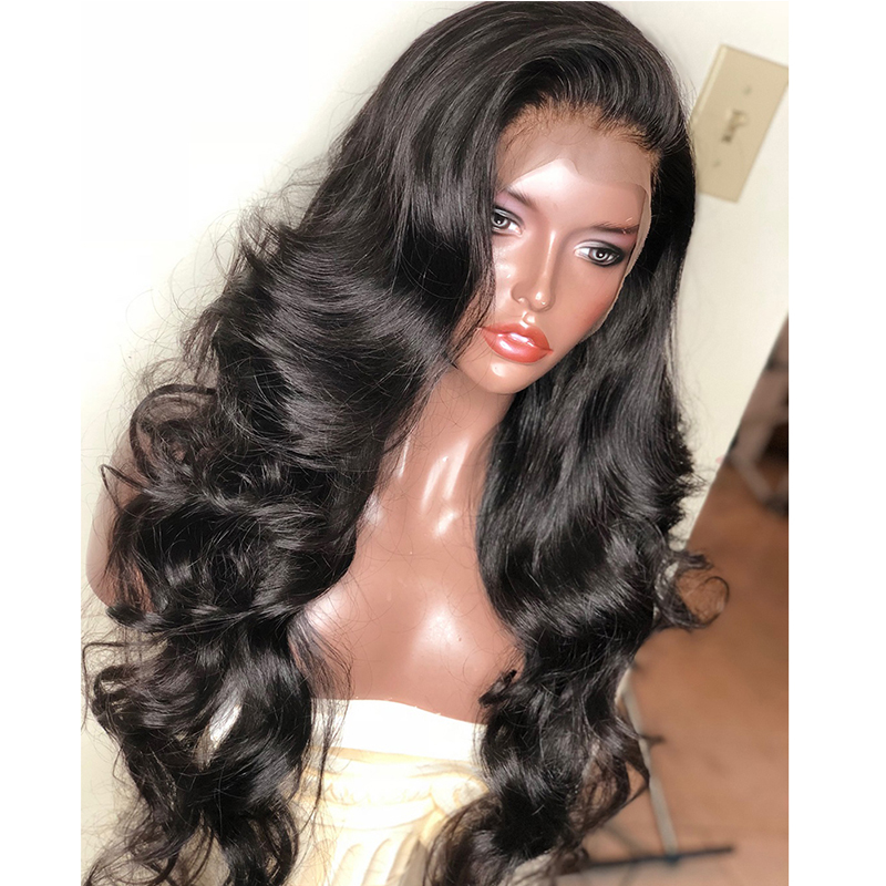 Body Wave 13x6 Lace Front Human Hair Wigs 250 Density Brazilian Lace Frontal Wig Bob Glueless Pre Plucked Dolago Wig Remy