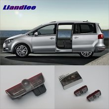 Liandlee Car Door Ghost Shadow Lights For VolksWagen VW Sharan 2012~2015 Courtesy Doors Lamp / LED Projector Welcome Light блокнот follow крафт