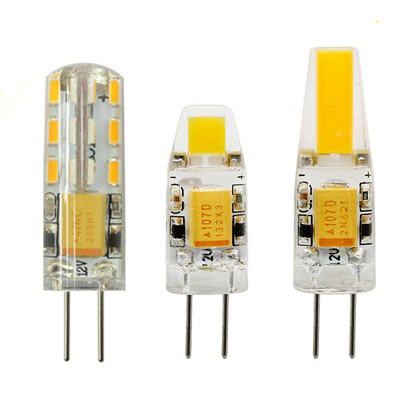 Mni G4 LED Lamp 2W/3W/6W 12V Warm/Cold White COB Bulb 360 Beam Angle Chandelier Light Replace 20W 30W 40W Halogen Lamp