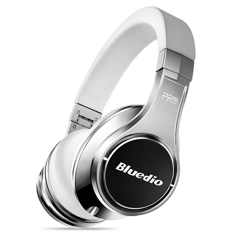 Bluedio U (UFO) 2 High-End Cuffie Bluetooth Brevettato 8 Driver HiFi Cuffie Senza Fili Con Microfono per il telefono di controllo vocale