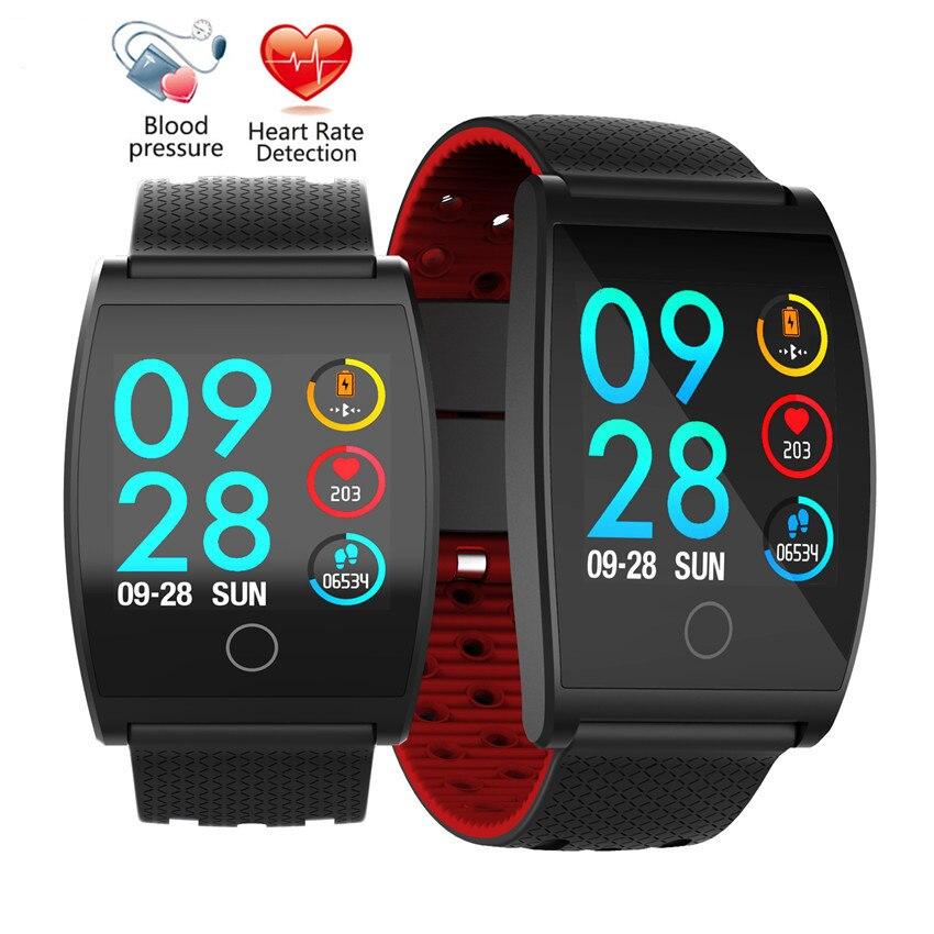Smart Bracelet Couleur LCD Montre Sang Pression D'oxygène Bande À Puce Moniteur de Fréquence Cardiaque Étanche de Remise En Forme Bracelets