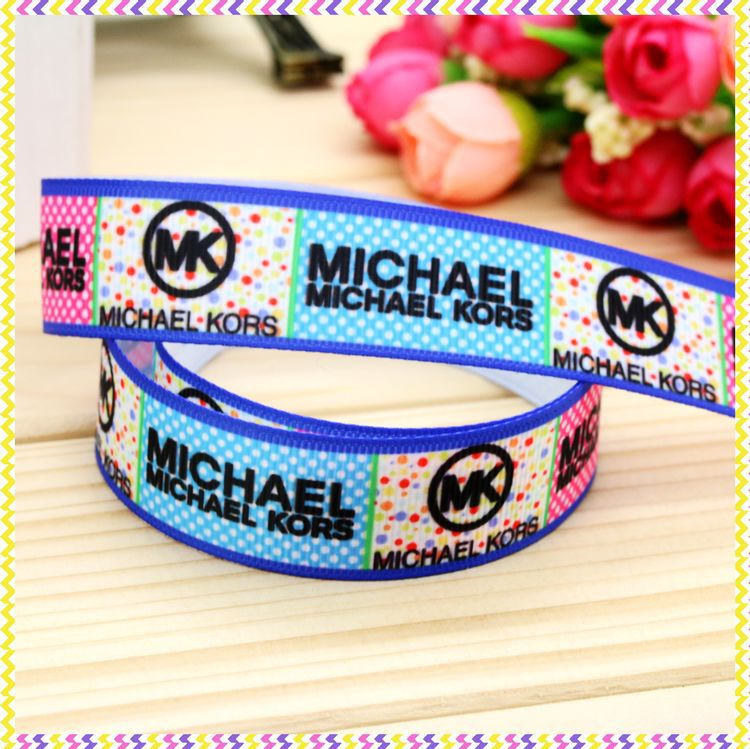 7/8'' Free Shipping Printed Grosgrain Ribbon Hairbow Headwear Party Decoration Diy Wholesale OEM 22mm P4597