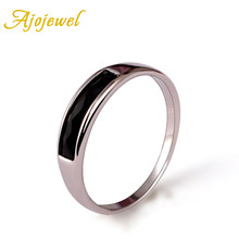 Ajojewel Simple Resin Ring Black Green Red Trendy Thin Rings For Women Jewelry Wholesale(China)