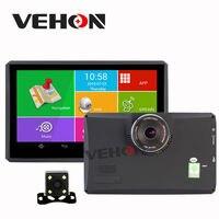 7 pouce GPS Navigation Android 512 Mb 8 Gb Voiture Dvr Caméra 1080 P enregistreur Camion véhicule Gps Livraison Carte Quad-core Tablet PC Véhicule Gps