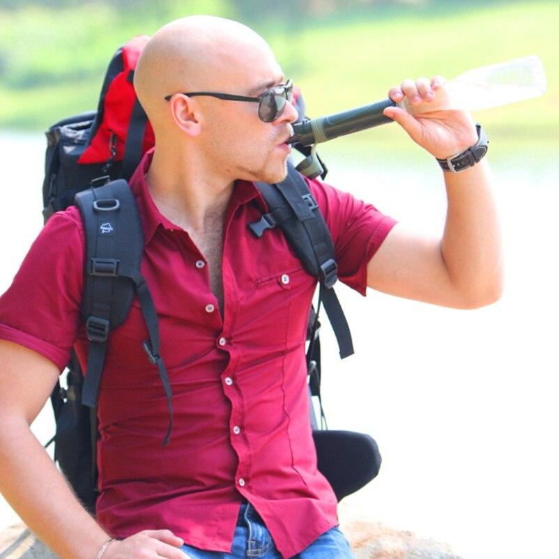 Miniwell Открытый отдых Сверхлегкий очистки соломы для Охота пеший Туризм Военная Униформа аварийного выживания наборы
