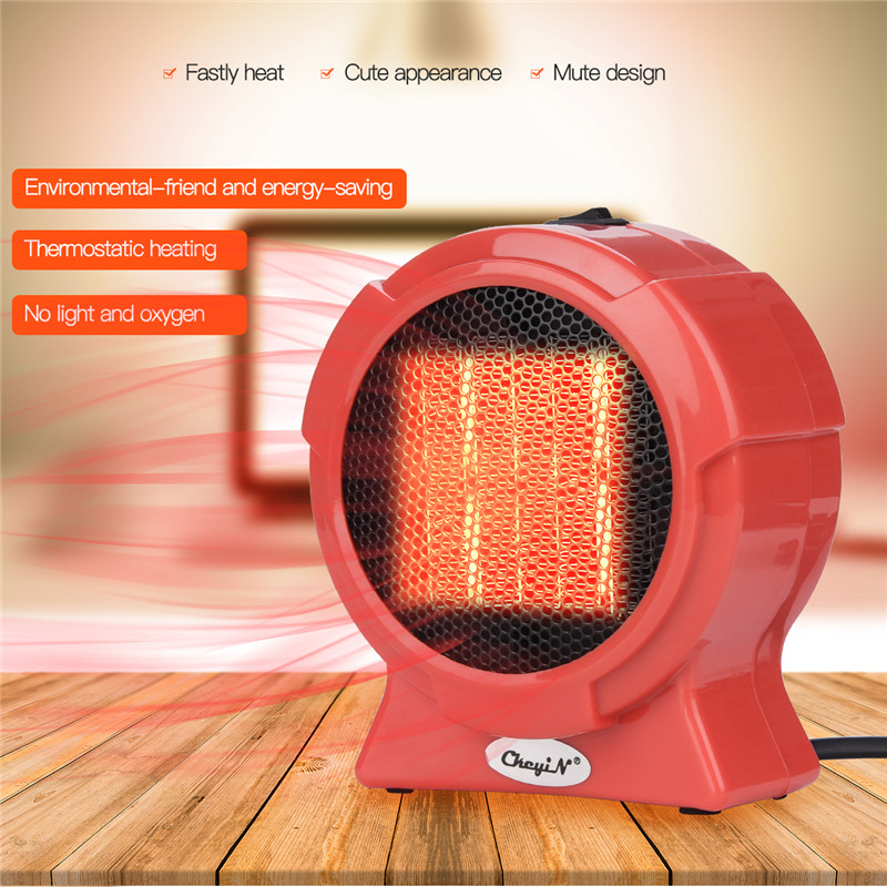 Mini Portable Electric Home Handy Heater Small Desktop Warm Fan Air Blower Personal Ceramic Space Winter Heating Radiator Warmer dmwd electric heater mini hot air heating fan machine portable personal winter warmer desktop stove radiator home office eu plug