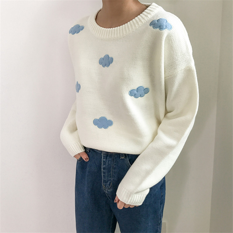 19 Women Sweaters And Pullovers Long sleeve Knitted Women's Sweater Female Winter V Neck Jumper Sueter Mujer Pull Femme 7