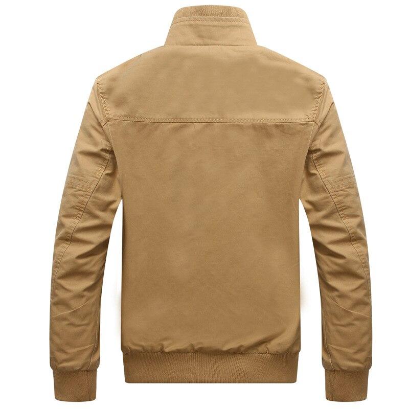 Мужская куртка-бомбер, Армейская, повседневная, высокого качества, на весну, большие размеры 3XL
