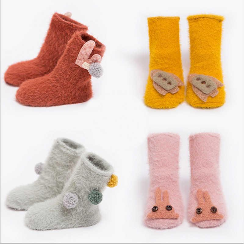 4cce20d28c492 winter socks baby boy sock warm new born baby girl socks for newborns infant  indoor sock