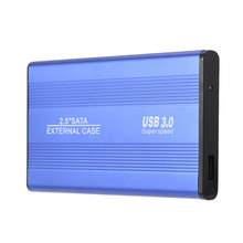 2.5 inch Notebook SATA HDD Case to Sata USB 3.0 SSD HD Hard Drive Disk External Storage Enclosure Box With USB 3.0 Cable(China)