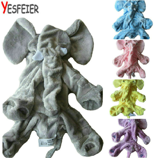 60cm Elephant Skin Plush Soft Toy Stuffed Baby Kids Toy Anminal Big Size Appease Baby Sleep Pillow Baby Calm Doll Gift For Child