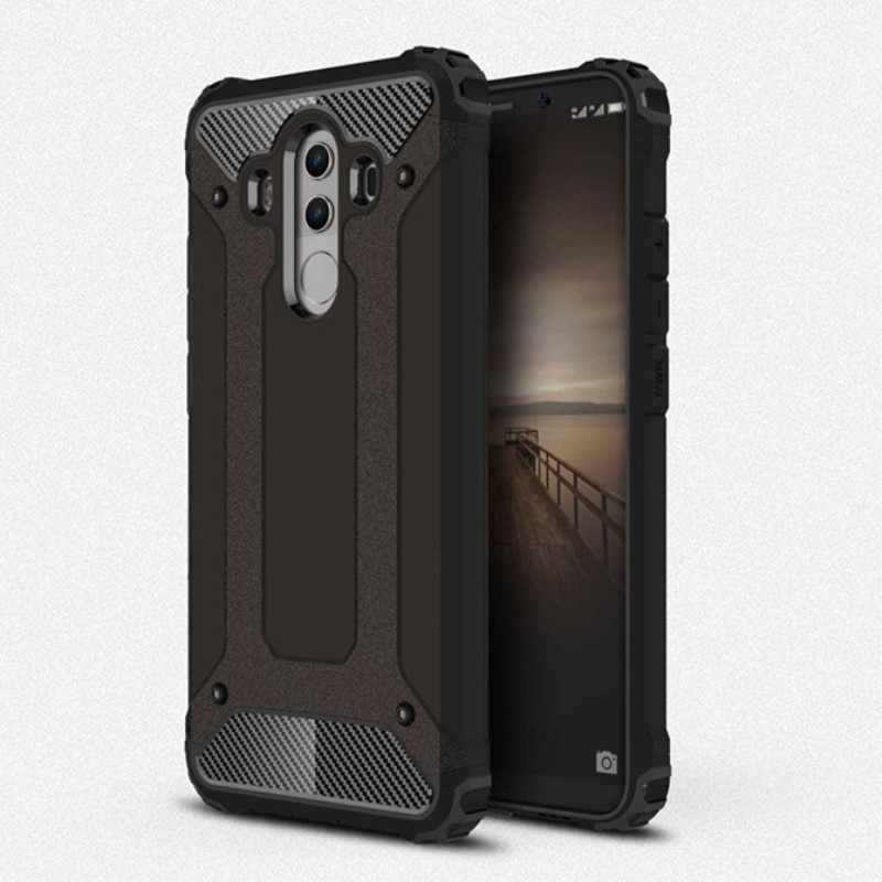For Huawei Mate 8 9 10 20 Pro Hybrid Tough Armor Cover For P10 P20 P30 Lite Pro P20 Plus Hard PC Shockproof Silicone Dual Case