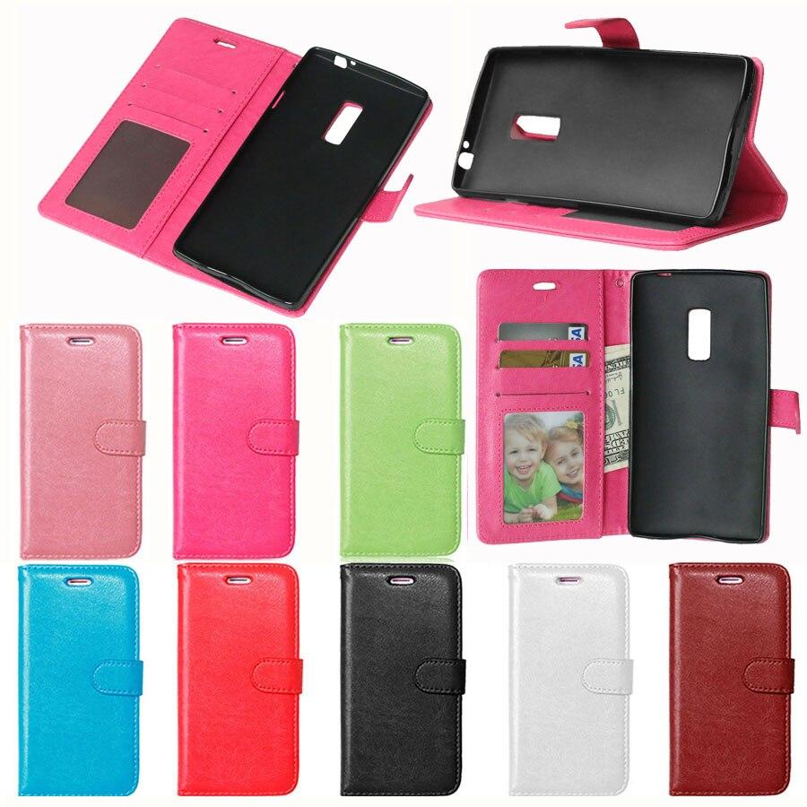 e3779017d215c محفظة جلدية فاخرة القضية ل oneplus اثنين حقيبة قضية الهاتف فليب غطاء مع  حامل و فتحة بطاقة ل واحدة زائد 2 OnePlus2 (5.5 inch)