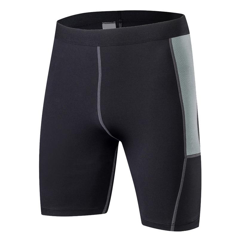 2951d605e0d1 Vertvie hombres corriendo corto deporte Legging de secado rápido de  compresión ajustados gimnasio ...