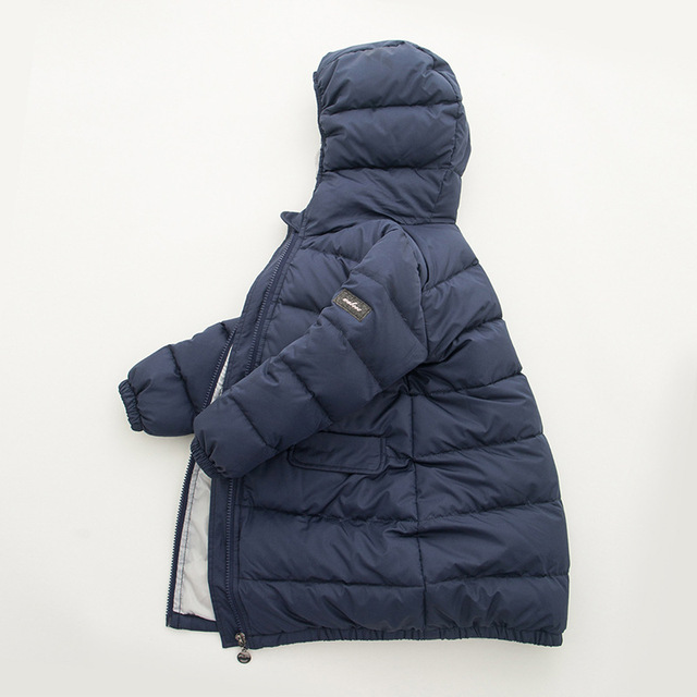 Children 'S Clothes Down Jacket For Boys And Girls Winter Coat Thickening Warm Clothing Kids Baby Fashion Outdoor Down Coat