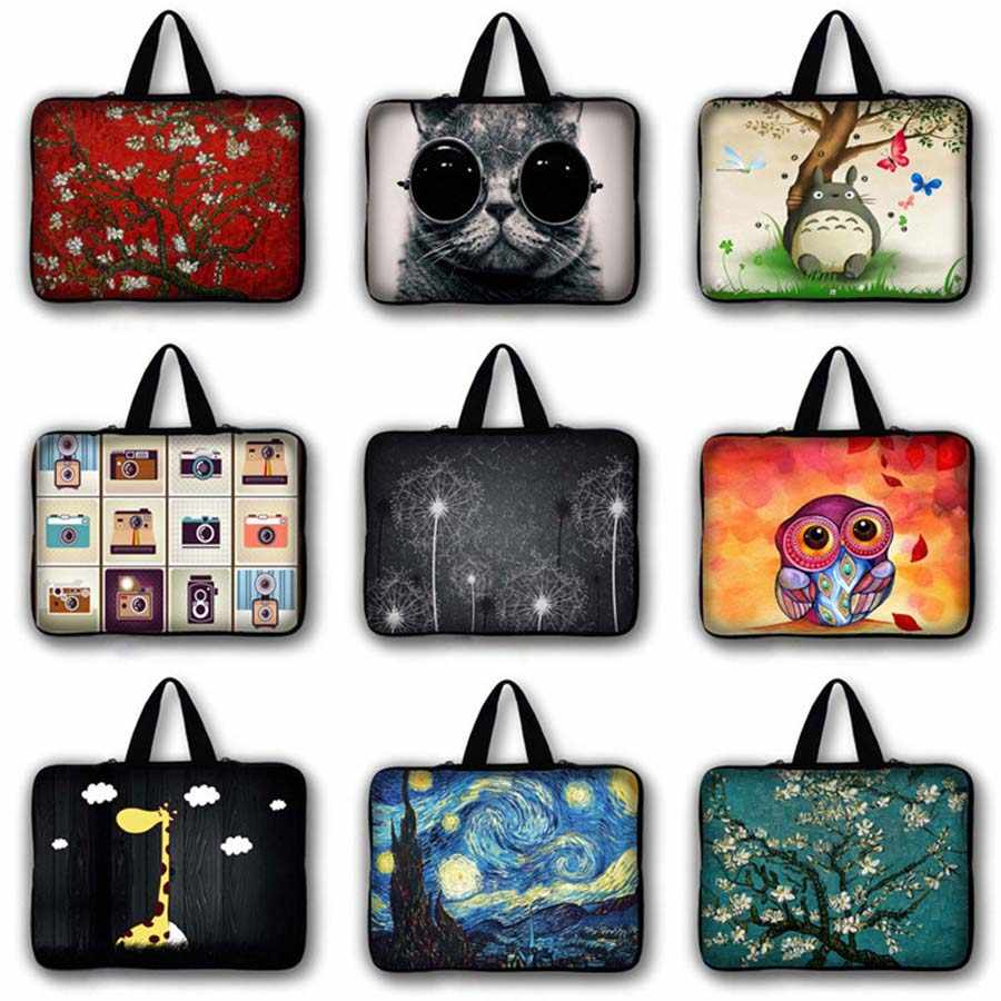 Serigala Cetak 7 10 11.6 13 13.3 14 15 17 17.3 Inci Kasus Notebook Laptop PC Tablet Tas macbook Air Pro 13 Retina LB-5084