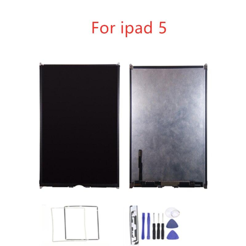 LCD Pour iPad Air 1 Air1 iPad5 5 A1474 A1475 A1476 LCD Affichage Matrice Écran Tablet PC Pièces De Rechange Avec 3 cadeaux