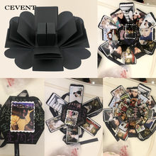 CEVENT 1pc Surprise Gifts Box Manual Lovers DIY Photos Valentine's Day Wedding Romance Creative Birthday Party Surprise Gift(China)