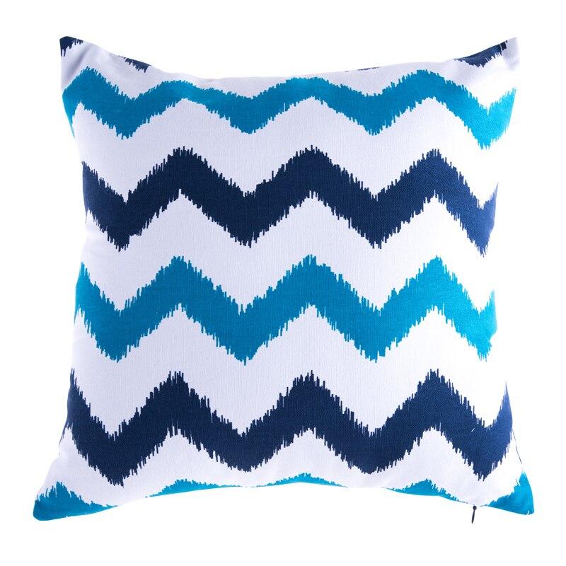 ▻Cojines Decoración para el hogar sofá Almohadas impreso rayas