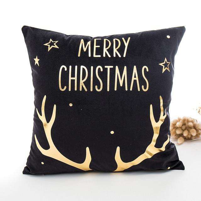 Buon Natale Cuscino Custodie 45 cm * 45 cm Retro Cotone Biancheria Per La Casa C