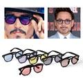 2016 New Brand Women Retro Sunglasses Star style Full frame Men Revits Colorful Lenses Sun Glasses Free Shipping 6PCS/Lot